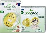 ECOEGG WASH Egg 144 Washes + Refill 144 Washes Original -...