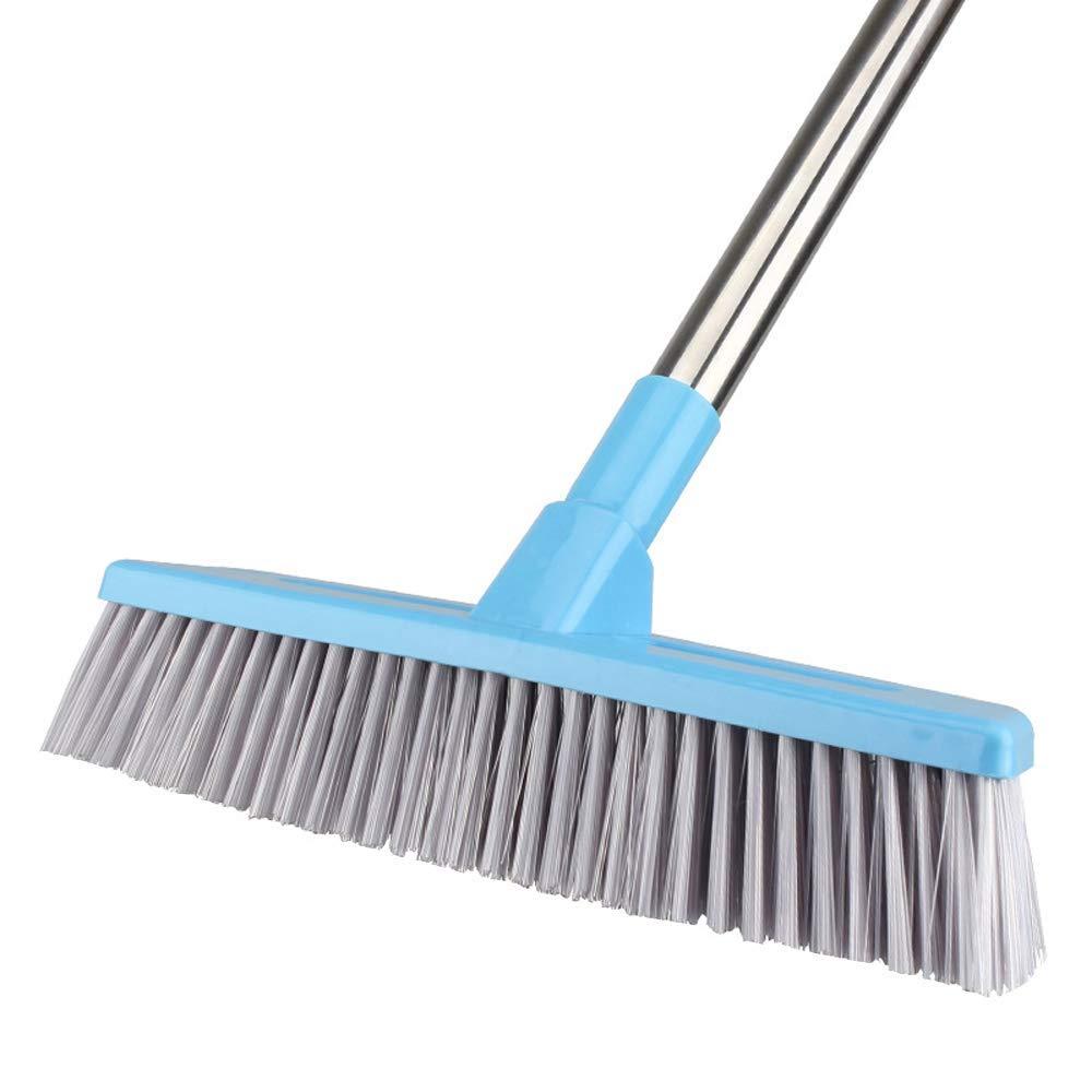 Cepillo para Ba/ñera y Azulejos Cepillo Extensible con 119cm Mango Largo Cepillo Giratorio de 180/°de Fregado Limpieza para Ba/ñera Ducha Azulejo Pared de Ba/ño Cocina