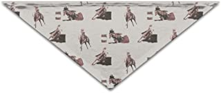 TMVFPYR Dog Bandana Triangle Bibs Scarf Accessories for Dogs Cats Pets Barrel Racing