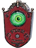 Gemmy 57622 Animated Eyeball Doorbell with Sound Effects, Halloween Party & Haunted House Decoration