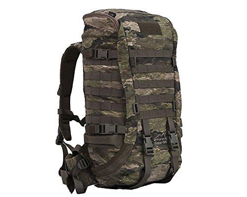 Wisport robuster Jagdrucksack Damen Herren + inkl. E-Book | Kleiner Rucksack für Jäger Jagd | Camo Backpack für Pfadfinder Jugendliche | Organizer | Cordura | A-TACS iX | Zipperfox 25L