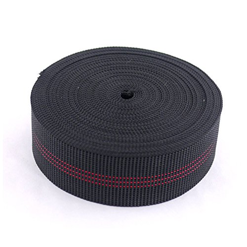 Houseables Chair Webbing, Elastic, Elasbelt, Two Inch (2') Wide, Forty Ft (40') Roll, Latex, DIY Upholstery, Furniture Repair and Modification, Stretchy Spring Alternative, Sofa, Couch, Chair