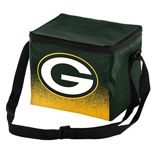 NFL Unisex Gradient Print Lunch Bag Coolergradient Print Lunch Bag Cooler, Green Bay Packers, Standard