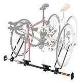 DOPPELGANGER(ドッペルギャンガー) 1~2台用 自転車 車載 キャリア 固定 ホイールスタンド 付属 インカーサイクルペアキャリア DDS376-BK