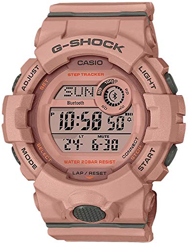 G-Shock GMDB800SU-4 G-Squad - Rastreador de pasos, color rosa
