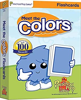 Cards Meet the Colors - Flashcards Book
