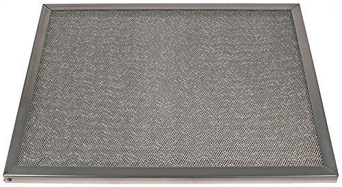 Vetopvangfilter voor afzuigkappen 2 3 breedte 400 mm hoogte 500 mm CNS dikte 20 mm