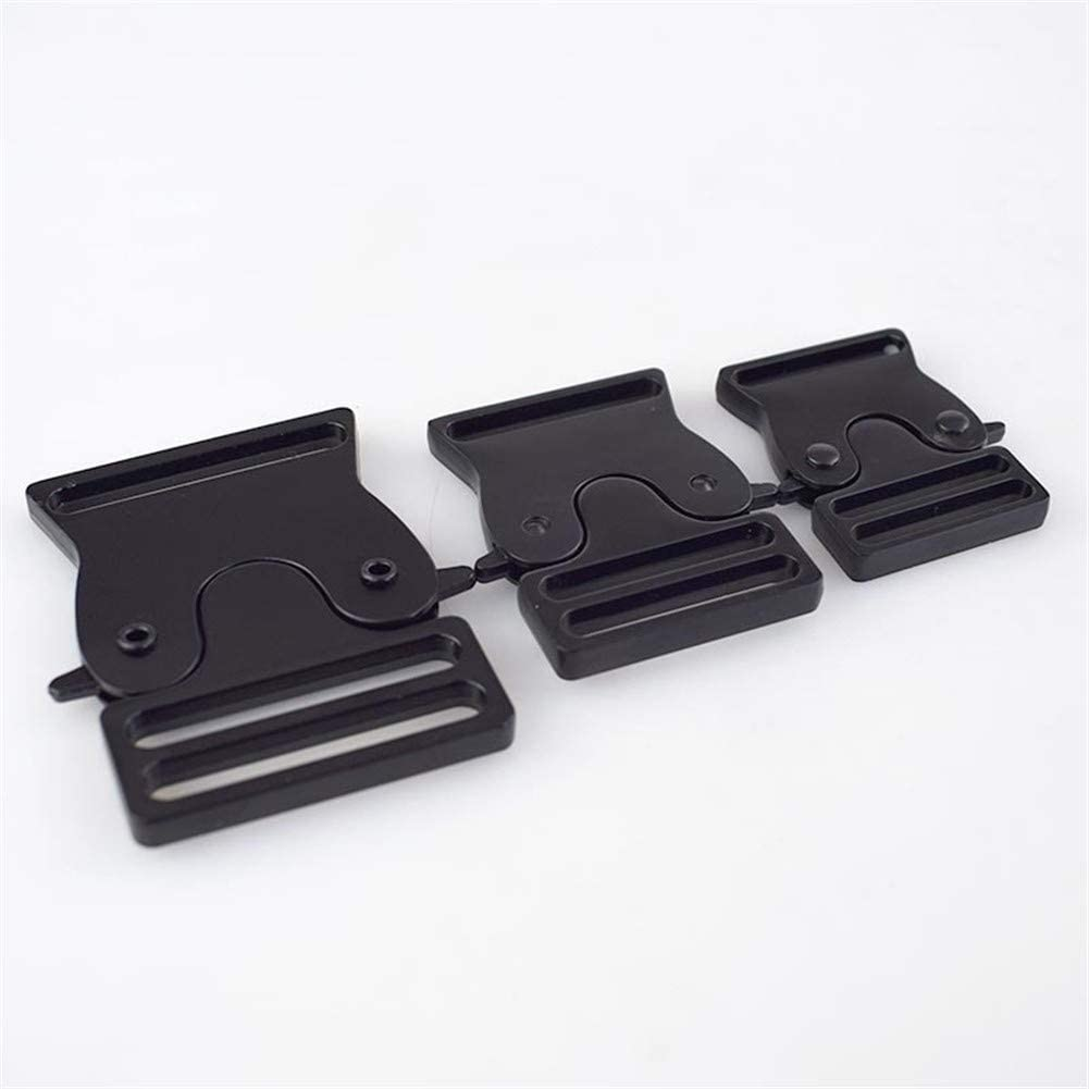 Roller design 5pcs Metal Bag Quick 3 Side 25 Buckle Japan's largest assortment It is very popular Release 30