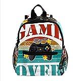 Schultasche für Kinder Spiel ist aus Kinderrucksack Babytasche minirucksack für 3-8 Jährige Jungen und Mädchen im Kindergarten 25.4x10x30 cm