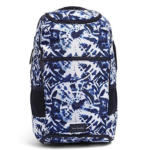 Vera Bradley Recycled Lighten Up Reactive Journey Backpack, Island Tie-Dye