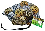 Unique Sports Dog Fetch Balls Animal Prints 18 Pack, Assorted, One Size