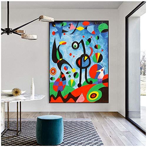 nr The Garden 1925 por Joan Miro Pinturas en Lienzo Arte de