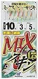 ハヤブサ(Hayabusa) これ一番 MIXスキンサビキ 6本鈎 6-1.5 HS712-6-1.5