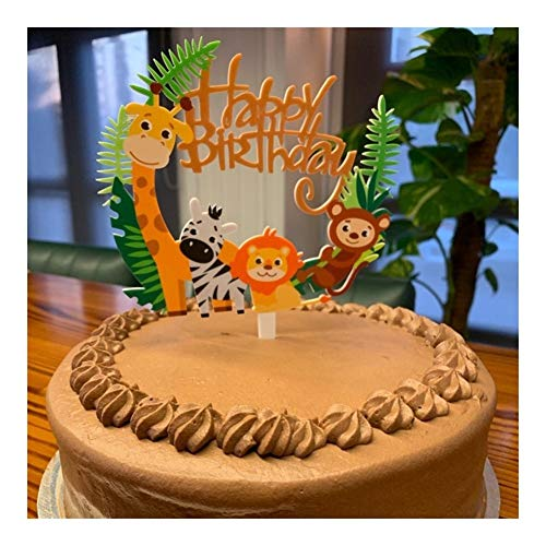 WENXUAN 1 Happy Birthday Cake Topper Birthday Party Decoration Supplies Children Cake Topper Birthday Supplies (Color : 1pcs tablecloths)