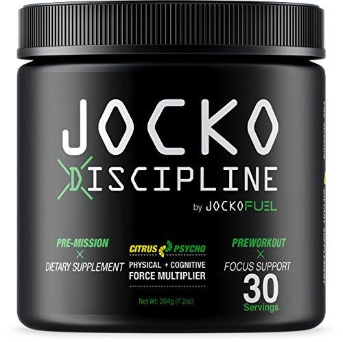 Jocko Discipline - All-Natural Pre-Mission Dietary Supplement– Pre-Workout Powder - Workout Supplements - Lemon Lime - Net Wt. 202g (7.1oz)