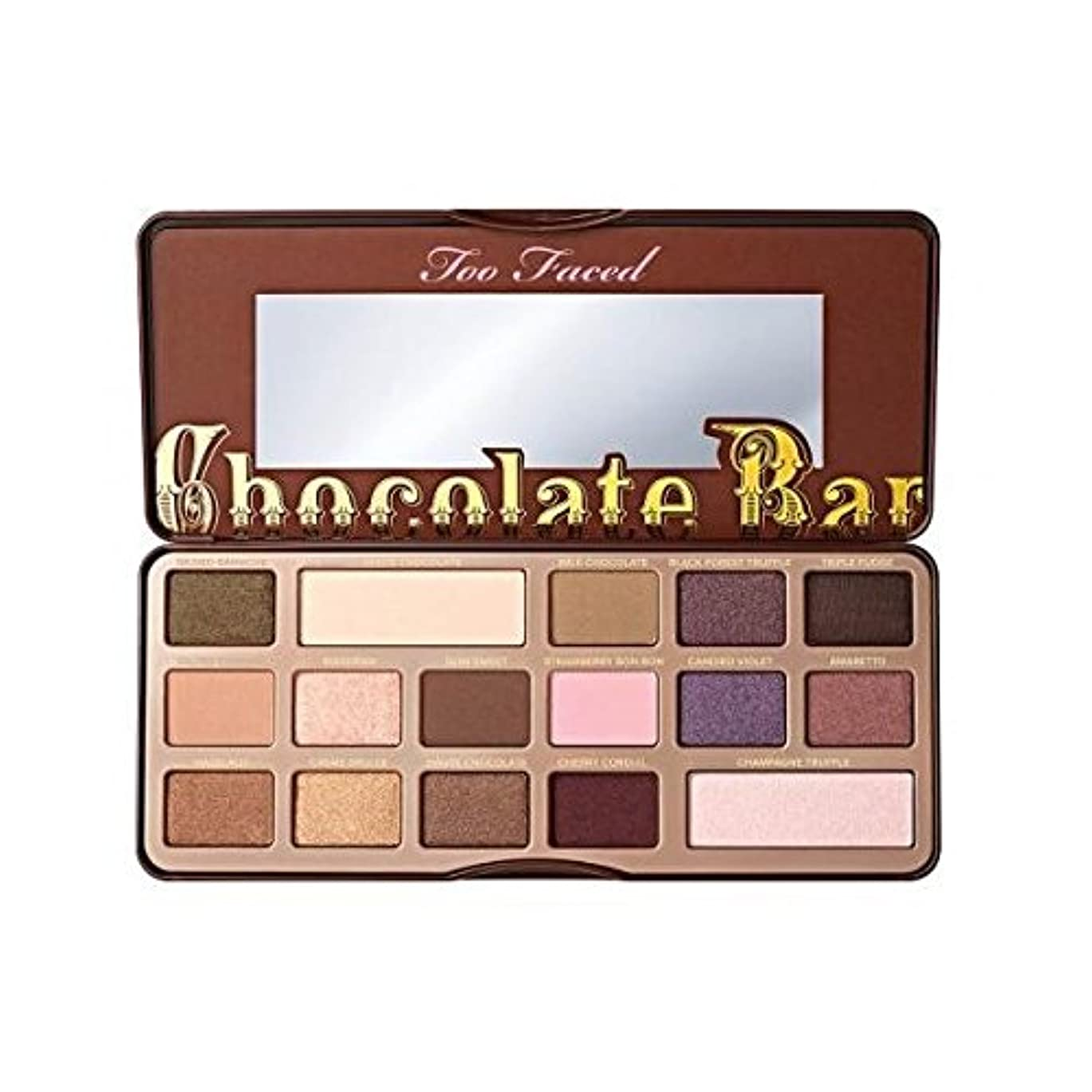 楽観的自己尊重デッドTOO FACED CHOCOLATE BAR EYE SHADOW COLLECTION