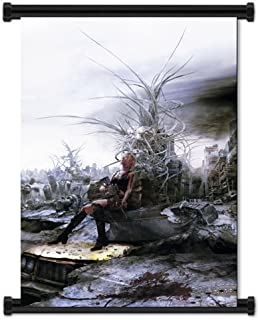 Parasite Eve The 3rd Birthday Game Aya Brea Fabric Wall Scroll Poster (16
