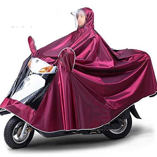 Combinaison de vêtements imperméables d'extérieur Poncho pluie Costume Rainwear pluie capuche imperméable imper moto Raincoat Simple Double adulte électrique CYCLISTE Augmenter Épaississement Poncho i