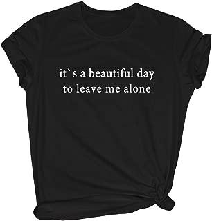 Women's Casual Cool Graphic Cute Tops O-Neck Tees Fashion T Shirt