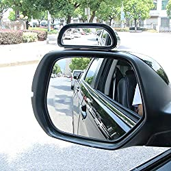 HuktDerサポートミラー 車用 自動車 補助 セーフティミラー 簡単取り付け ?広視野 死角解消 後方確認 事故防止