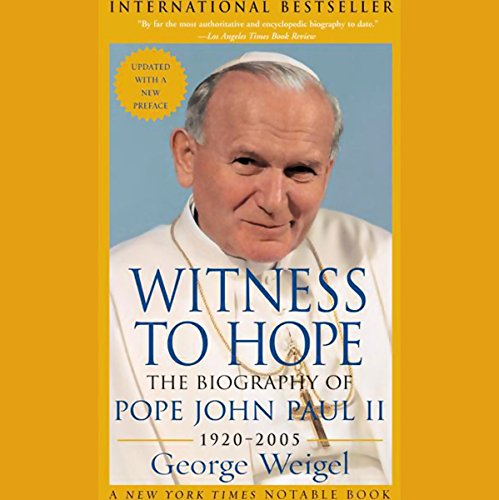 Witness to Hope audiobook cover art
