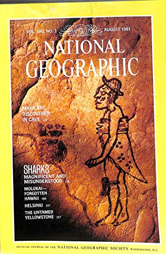 National Geographic Magazine, August 1981 (Vol. 160, No. 2)