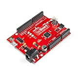 SparkFun RedBoard Qwiic ATMega328P compatible with Arduino board w/ Qwiic Connector and CH340C Serial-USB Converter IC Breadboardable R3 footprint microcontroller Improved reset button