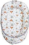 XRZY Baby Nest Cocoon, Rembourrage pour bébé, Couchage en Coton adapté à Un lit de Voyage ou à Un pod de Sommeil Confortable 45X80cm