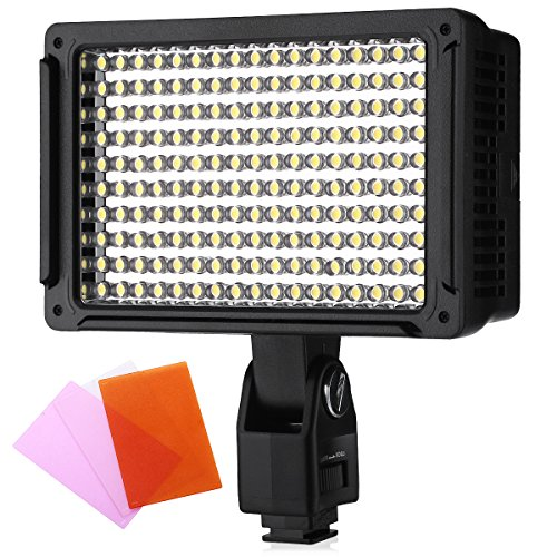 Powerextra 800 BiColor CRI 96 70W Dimmable LED Video Light Panel for DSLR Camera Camcorder Studio PhotographyYouTube Video Shoot