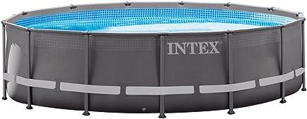 Intex 26310NP - Piscina desmontable Ultra Frame 427 x 107 cm, 12.706 litros