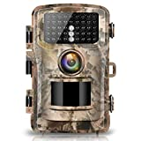 Campark Trail Camera 14MP 1080P 2.0' LCD Game & Hunting Camera with 42pcs IR LEDs Infrared Night Vision up to 75ft/23m for Wildlife Scouting Digital Surveillance Waterproof IP66