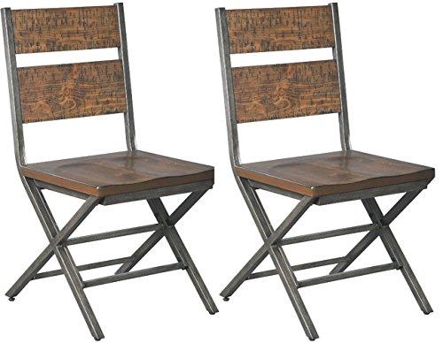 Signature Design by Ashley Kavara, Dining Chairs, Medium Brown