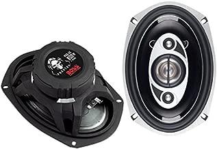 BOSS Audio Systems P69.4C 800 Watt Per Pair, 6 x 9 Inch, Full Range, 4 Way Car Speakers Sold in Pairs