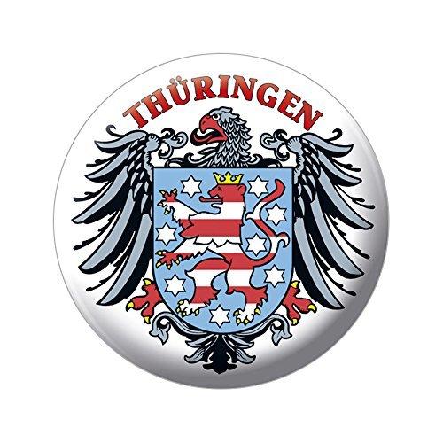 Ansteckbutton - Thüringen Wappen Adler - 18847 - Gr. ca. 5,7 cm