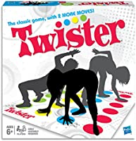 Twister - now with Air Moves - on the floor party game - 2 Plus Players - Family Board Games and Toys for Kids, Boys,...