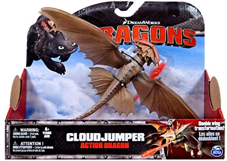 auténtico Dreamworks Dragons Acción Dragon Figura, Cloud Cloud Cloud Jumper  diseño único
