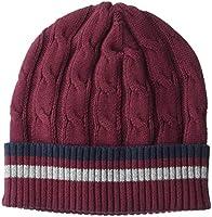 Amazon Brand - Goodthreads Men's Soft Cotton Cable Knit Beanie