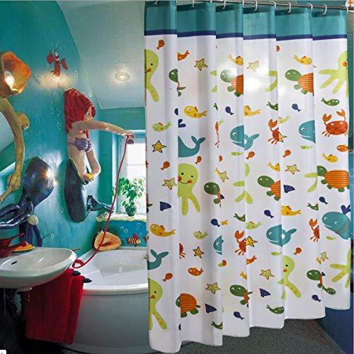 Nobrand douchegordijn nieuw verdikt waterdicht polyester hotel douchecabine decoratieve gordijnen ontwerp