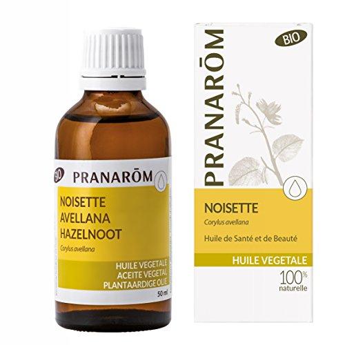 Pranarôm | Huile Végétale Noisette Bio| Première pression à froid des fruits du Noisetier | 50 ml
