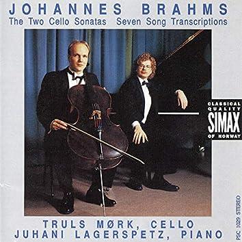 Brahms: Cello Sonatas 1 & 2, & Seven Songs