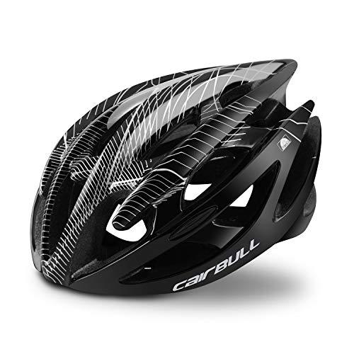 Adultos Casco de Bicicleta Casco de Bicicleta Casco liviano, Certificado CE Tamaño Ajustable Ultraligero para Bicicleta de Carretera BMX Monopatín MTB Bicicleta de montaña Hombres Mujeres Damas