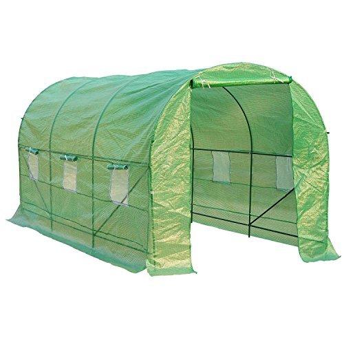 HOMCOM - Invernadero caseta 450 x 200 x 200 Jardin terraza C