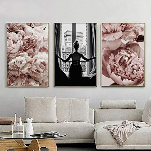 Mr. Castle Laminas Decorativas para enmarcar Cuadros de Pared. Estilo fotografía. Grandes 30 x 40cm y 20 x 30cm. Posters decoración del hogar, salón, Moderno, nórdico (París)