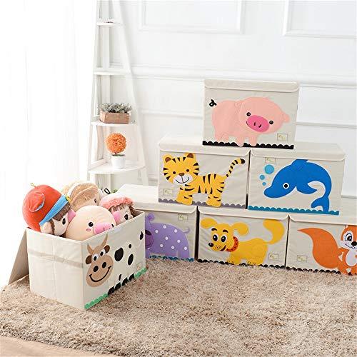 Finition de stockage Bins Pliable Pop Up Chambre bien rangée Coffre de rangement Coffre à jouets for filles et garçons - Idéal for les ménages de stockage, des tissus ou des jouets Toy Box Toy Box de