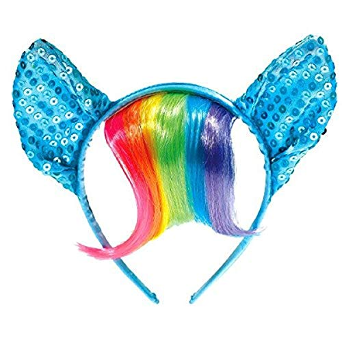 American Greetings 5544239 My Little Pony Party Supplies, Deluxe Rainbow Headband (1Count)
