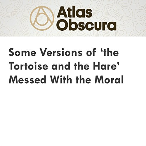 Some Versions of 'the Tortoise and the Hare' Messed With the Moral audiobook cover art