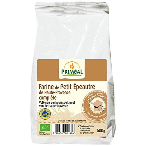 Priméal Farine de Petit Épeautre de Haute Provence Complète 500 g BIO