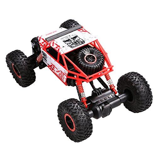 RC Auto kaufen Crawler Bild 3: s-idee HB-P1801 4WD Rock Crawler RC Car Geländewagen Auto, 1:18 Fernbedienung Monster Truck/Off Road Fahrzeug Rot*