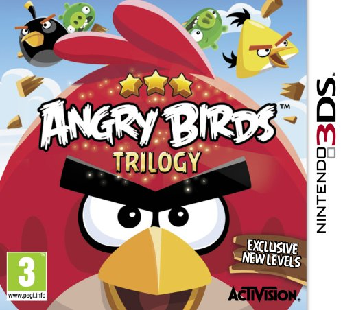 Nintendo Angry Birds Trilogy, 3DS