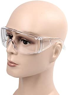 3 pcs Safety Glasses Anti Transparent Multifunctional Protective Glasses
